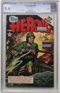 Golden Age (1938-1955):War, Heroic Comics #80 File Copy (Eastern Color, 1953) CGC NM 9.4Off-white pages....