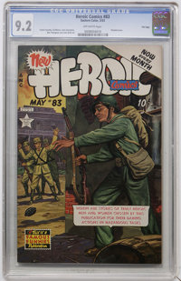 Heroic Comics #83 File Copy (Eastern Color, 1953) CGC NM- 9.2 Off-white pages