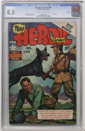 Golden Age (1938-1955):War, Heroic Comics #86 File Copy (Eastern Color, 1953) CGC VF+ 8.5 Cream to off-white pages....