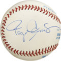 Autographs:Baseballs, Roger Clemens Single Signed Baseball. Having won seven Cy YoungAwards, many believe Roger Clemens is the greatest pitcher ...