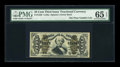 Fractional Currency:Third Issue, Fr. 1339 50¢ Third Issue Spinner Type II PMG Gem Uncirculated 65 EPQ....