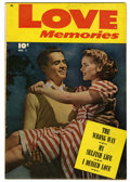 Golden Age (1938-1955):Romance, Love Memories #1 (Fawcett, 1949) Condition: FN....