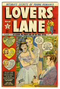 Golden Age (1938-1955):Romance, Lovers' Lane #1 (Lev Gleason, 1949) Condition: FN/VF....