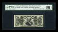 Fractional Currency:Third Issue, Fr. 1335 50c Third Issue Spinner PMG Gem Uncirculated 66 EPQ....