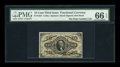 Fractional Currency:Third Issue, Fr. 1253 10¢ Third Issue PMG Gem Uncirculated 66 EPQ....