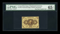 Fr. 1229 5¢ First Issue PMG Gem Uncirculated 65 EPQ