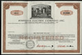 Stocks and Bonds:General Stocks & Bonds, Hawaiian Electric Company, Inc. ABNCo Specimen Stock ...