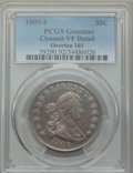 Early Half Dollars, 1805/4 50C O-101, T-4, R.3, -- Cleaned -- PCGS Genuine. VF Details.NGC Census: (1/16). PCGS Population: (0/6). VF20.. ...