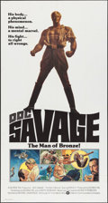 "Movie Posters:Adventure, Doc Savage: The Man of Bronze (Warner Brothers, 1975).International Three Sheet (40.75"" X 81""). Adventure.. ..."