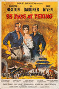 "Movie Posters:Adventure, 55 Days at Peking (Allied Artists, 1963). Poster (40"" X 60"").Adventure.. ..."