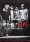 "Movie Posters:Rock and Roll, Van Halen Live: Right Here, Right Now (Warner Brothers, 1993).Identical Album Posters (3) (42"" X 58""). Rock and Roll.. ...(Total: 3 Items)"