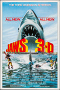 """Movie Posters:Thriller, Jaws 3-D (Universal, 1983). Poster (40"""" X 60""""). Thriller.. ..."""