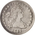 Early Dollars, 1795 $1 Draped Bust, Off Center VF30 ANACS....