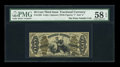 Fractional Currency:Third Issue, Fr. 1359 50¢ Third Issue Justice PMG Choice About Unc 58 EPQ....