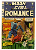 Golden Age (1938-1955):Romance, A Moon, A Girl...Romance #9 (EC, 1949) Condition: GD/VG....