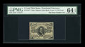 Fractional Currency:Third Issue, Fr. 1237 5¢ Third Issue PMG Choice Uncirculated 64 EPQ....