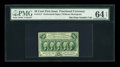 Fractional Currency:First Issue, Fr. 1311 50c First Issue PMG Choice Uncirculated 64 EPQ....