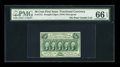 Fractional Currency:First Issue, Fr. 1312 50c First Issue PMG Gem Uncirculated 66 EPQ....