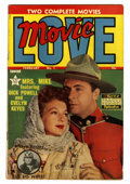 Golden Age (1938-1955):Romance, Movie Love #1 (Famous Funnies, 1950) Condition: FN-....