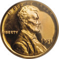 Proof Lincoln Cents, 1951 1C PR66 Cameo PCGS....