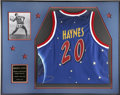 Basketball Collectibles:Others, 2001 Marques Haynes Harlem Globetrotters Retired Jersey from theMarques Haynes Collection. In a fabulous black tie ceremony...