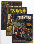 Silver Age (1956-1969):Adventure, Phantom #8-11 Group (Gold Key, 1964-65) Condition: Average VF.... (Total: 4 Comic Books)