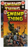 Bronze Age (1970-1979):Horror, Swamp Thing #4 and 5 Group (DC, 1973) Condition: Average NM-....