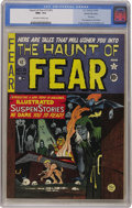 Golden Age (1938-1955):Horror, Haunt of Fear #15 (#1) Gaines File pedigree 3/11 (EC, 1950) CGC NM+9.6 Off-white to white pages....