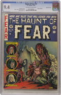 Golden Age (1938-1955):Horror, Haunt of Fear #14 Gaines File pedigree 4/12 (EC, 1952) CGC NM 9.4Off-white to white pages....