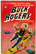 Golden Age (1938-1955):Science Fiction, Buck Rogers #101 (#8) (Toby Publishing, 1951) Condition: FN....