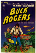 Golden Age (1938-1955):Science Fiction, Buck Rogers #100 (#7) (Toby Publishing, 1951) Condition: VF-....