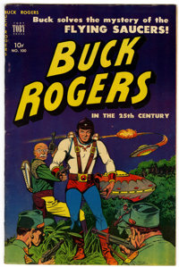 Buck Rogers #100 (#7) (Toby Publishing, 1951) Condition: VF-