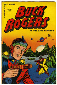 Buck Rogers #9 (Toby Publishing, 1951) Condition: VG/FN