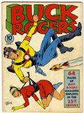 Golden Age (1938-1955):Science Fiction, Buck Rogers #2 (Eastern Color, 1941) Condition: FN....