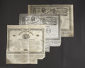 Confederate Notes:Group Lots, Ball 54 Criswell 29 $100 1861 Bond Fine-VF. Ball 201 Criswell 125$1000 1863 Bond VF. Ball 210 Criswell Unlisted $1000 1863 Bo...(Total: 3 items)