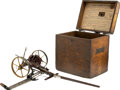 Advertising:Small Novelties, Adriance Hay Mower Working Salesman Sample in Original Box....