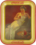 Advertising:Trays, 1936 Coca-Cola Serving Tray....