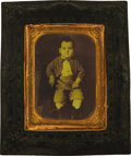 Photography:Tintypes, Quarter Plate Tintype in Thermoplastic Wall Frame,...