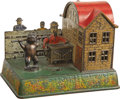 Antiques:Toys, Organ Grinder and Performing Bear Mechanical Bank...
