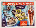 "Movie Posters:Science Fiction, The Human Vapor (Toho, 1962). Half Sheet (22"" X 28""). ScienceFiction.. ..."