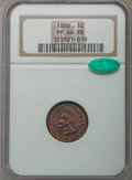 Proof Indian Cents, 1886 1C Type One PR66 Red and Brown NGC. CAC. NGC Census: (26/2). PCGS Population: (41/3). Mintage 4,290. . From The E...