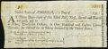 Colonial Notes:New Jersey, Continental Loan Office Bill of Exchange Third Bill- $36 Jan. 28, 1779 Anderson US-98/NJ-7A. Uncertified, Extremely Fine.. ...