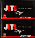"""Non-Sport Cards:General, 1956 Topps """"Jets"""" Complete Set (240) Plus Two Photo Albums...."""