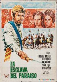 "1001 Nights (Altamira Films, 1969) Rolled Fine+. Spanish One Sheets (3) Identical (27"" X 39.5"") Marco Artwork..."