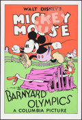 "Movie Posters:Animation, Barnyard Olympics (Circle Fine Art, R-1980s). Identical Fine ArtSerigraphs (5) (21"" X 30.75""). Animation.. ... (Total: 5 Items)"