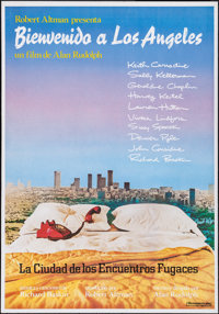 "Welcome to L.A. & Other Lot (Iberoamericana, 1976). Spanish One Sheets (2) (27"" X 39.25""). Drama. ... (Tot..."