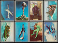 "Non-Sport Cards:Sets, 1954 Bowman ""Power For Peace"" Complete Set (96).  ..."