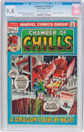 Bronze Age (1970-1979):Horror, Chamber of Chills #1 (Marvel, 1972) CGC NM 9.4 Cream to off-whitepages....