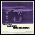 "Movie Posters:Horror, Dracula Has Risen from the Grave (Warner Brothers, 1969). Six Sheet(78.5"" X 80""). Horror.. ..."
