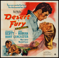 "Desert Fury (Paramount, 1947). Six Sheet (79"" X 80""). Film Noir"